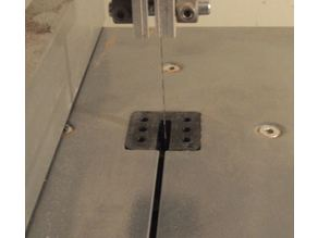 Aldi Band Saw Table Insert / Centreplate