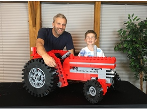 Giant sized Lego Tractor kit (851)
