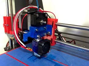 E3D V6 mount for CTC Prusa i3 Pro B (original mk7 style extruder)