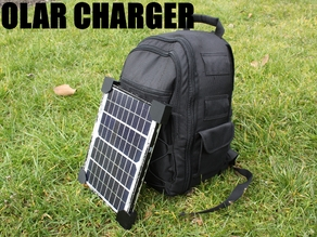 Solar Phone Charger Backpack