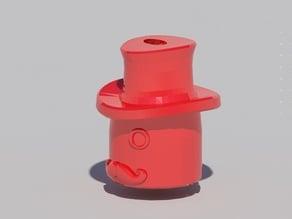 """""""Chap"""" Stick Lipbalm Key Ring Adapter"""