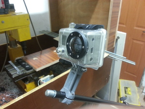 GoPro clamp for K&M microphone stand