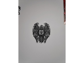 Eagle with Tiger Wall Art