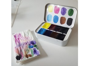 Altoids Watercolour Palette Insert