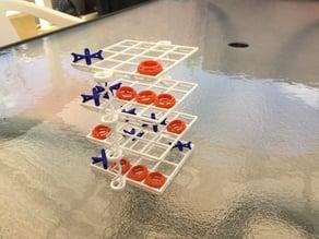 3D Tic Tac Toe (4x4x4)