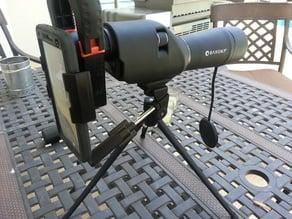 Plus Sized phone scope adapter