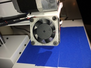 Printrbot Simple Metal Fan Intake