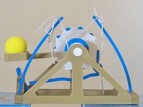 A version of Leonardo Da Vinci's catapult design