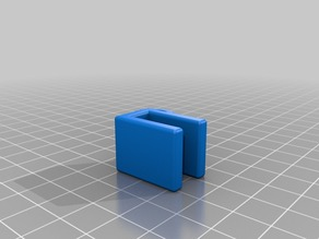 Prusa i3 8mm filament guide with 1mm fillet