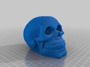 Voxel Celtic Skull