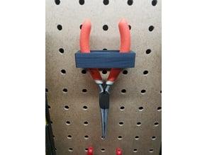 Peg Board Plier/Tool Holder