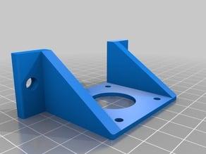 Hypercube Evolution 3030 Titan Extruder bowden mount