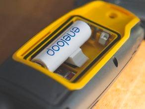 AA Battery Garmin G4 Adapter