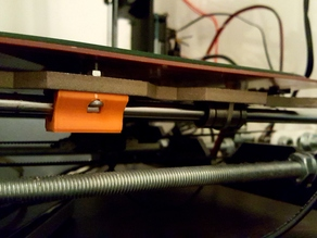 Bed Bearing Holder (Y-Axis) Prusa I3