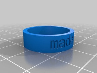 My Customized made 8 Ring