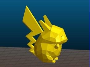 Pikachu Pokemon (low poly fat ver.)