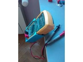Multimeter table holder
