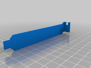Basic PCI Slot Bracket (Standard)