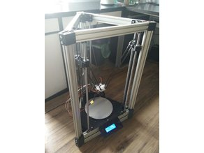Pentachoron - Delta 3D Printer