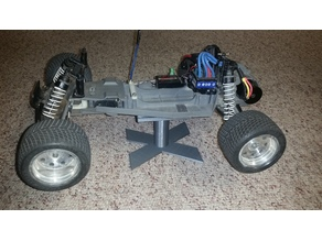 Adjustable R/C Car Stand