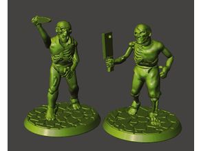 28mm Undead Armed Zombies