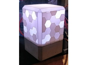 Honeycomb Lamp-Fully 3D Printed