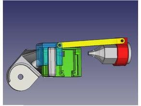 CR-10 detachable filament sensor and oiler