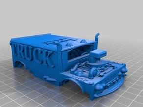 Truck V8 Model. stl3dmodels.com