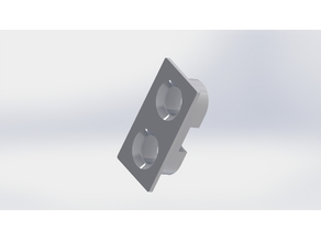 Ultrasonic HC-SR04 Sensor Mount
