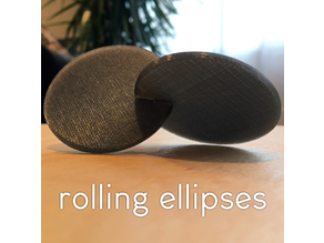 Rolling Ellipses fidget desk toy