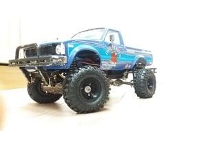 "tamiya bruiser / hg p407 1.9"" wheels"