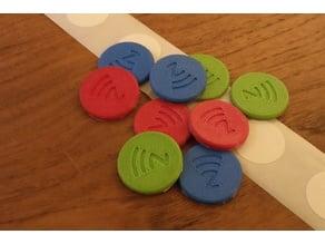 NFC Tag Coin