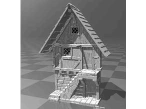 Medieval house facade 2