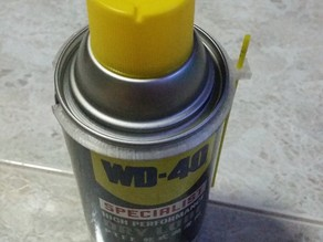 WD-40 360ml can straw holder