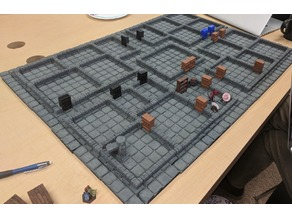 "OpenLock Remixed Dungeon ""S"" Low Walls"