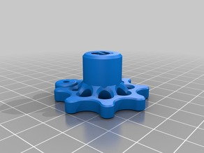 Creality Ender-3  Z axis and Extruder knobs