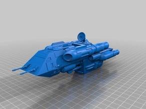 Wing Commander Tarsus Spaceship