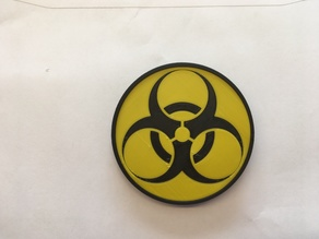 stackable biohazard coasters
