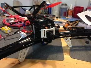 Lynxmotion Hunter V-Tail 500 FPV Camera Mount