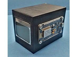 ESP8266 NOKIA5110 DHT22 box