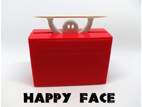 Funny toothpick dispenser (happy face)