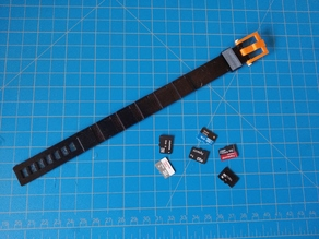 TPU MicroSD Bracelet