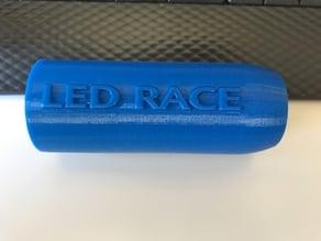 Led Race: Carcasa para Botón de Arcade / Arcade button enclosure