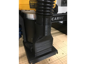 Customizable Shop Vac Hose Adapter