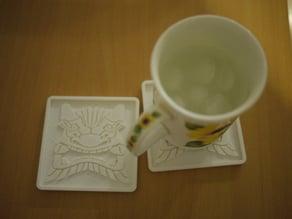Onigawara (鬼瓦) Coaster