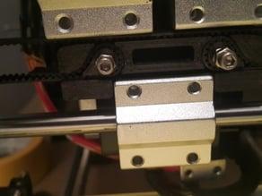 Alunar A6 i3 X Axis Belt Attachment