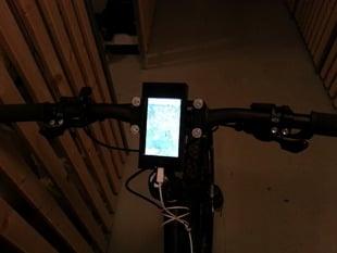 iPhone5 bike dock