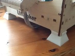 Ultimaker RTV Silicone anti-vibration feet template