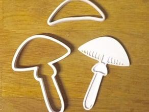 Mushroom cookie_Fly agaric