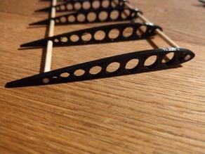 Wooden skewers plane